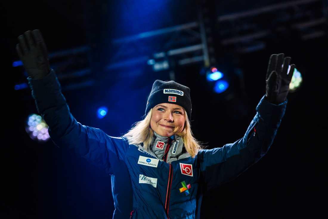 Maren Lundby delade med sig av ovärderliga hemligheter