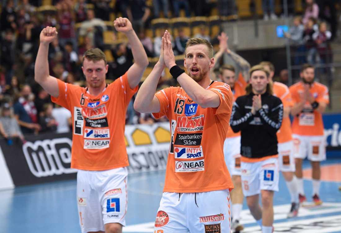 Olafur Gudmundsson (13) fixade en poäng för Kristianstad. Arkivbild.