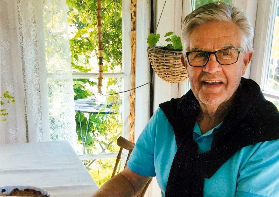 Sten-Inge Ström blev 74 år.