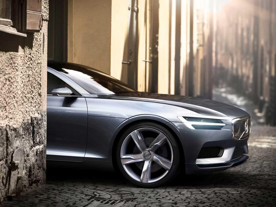 Concept Coupe – den första av tre koncept som visade Volvos nya formspråk.
