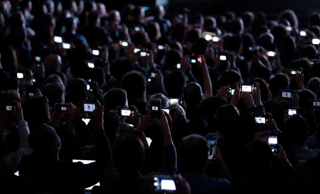 Uppgifter om människors beteende på nätet lagras i dag av stora företag. I kombination med alla andra uppgifter som finns tillgängliga gör att Europa snart kan ha ett socialt rankningssystem likt det som byggs i Kina, varnar professor Gerd Gigerenzer på Max Planckinstitutet i Berlin. Arkivbild.