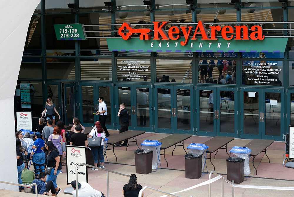 Key Arena i dag.