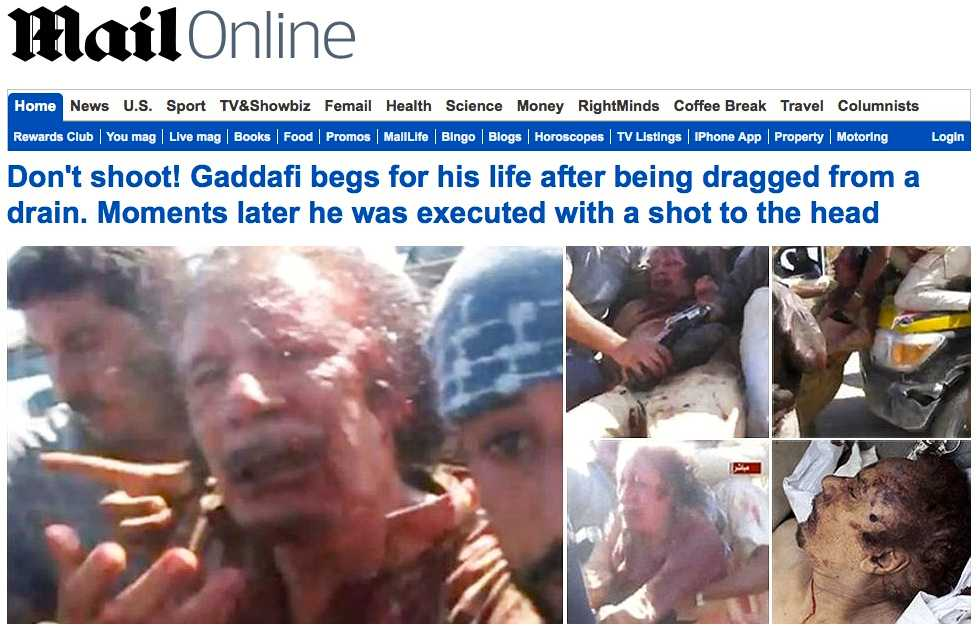 Engelska Daily Mail.