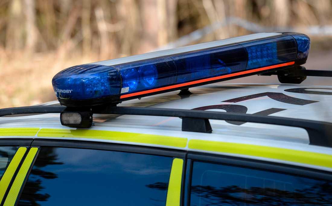 En död person hittades utomhus i Sundsvall under söndagen. Arkivbild.