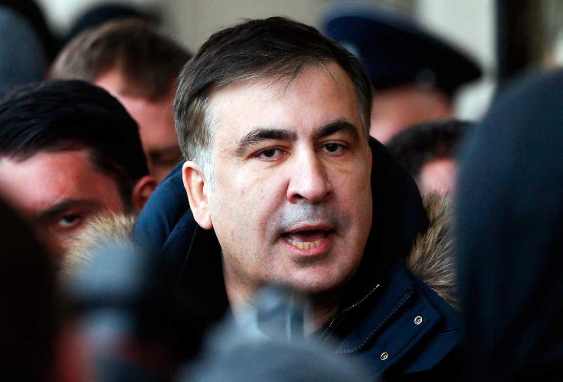 Micheil Saakasjvili får tillbaka sitt ukrainska medborgarskap. Arkivbild