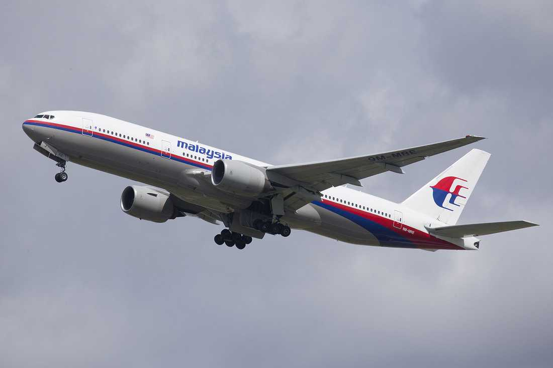 Boeing 777-200 från Malaysia Airlines.
