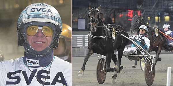 Örjan Kihlström och Reigning Moni spikas på V64.