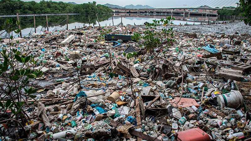 Så här ser det ut i närheten av OS-byn i Rio.