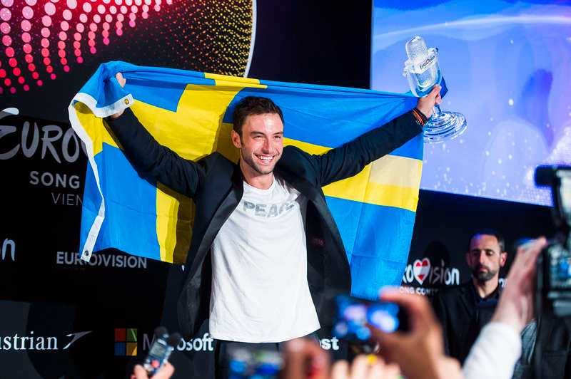 Måns Zelmerlöw vann årets Eurovision.