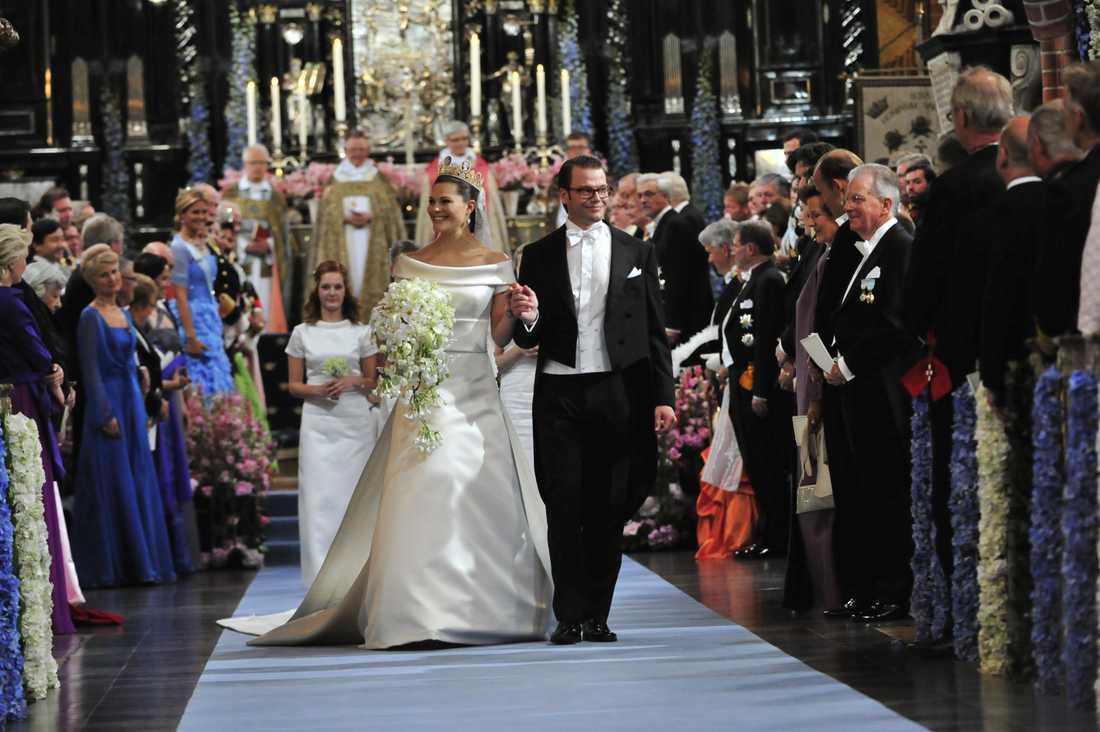 Victoria och Daniel gifte sig sommaren 2010.