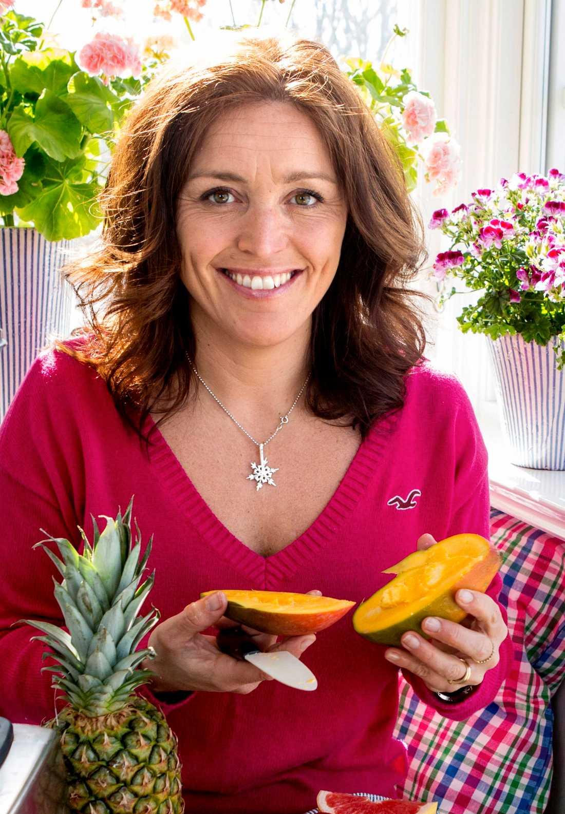 Ulrika Davidsson är kostrådgivare och kokboksförfattare.