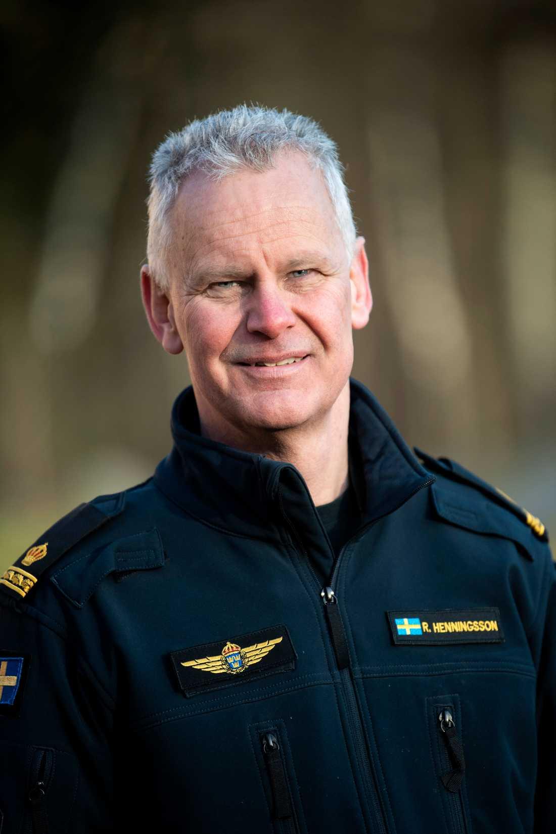 Rikard Henningsson är nationellt ansvarig för polisens drönarverksamhet.