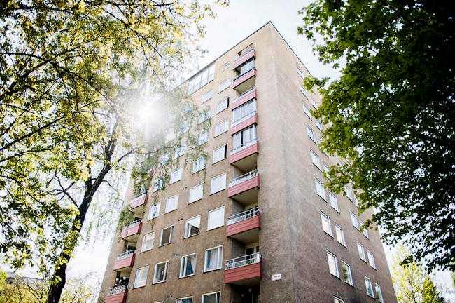 Skyhög hyra Hyreshuset på Skyllbergsgatan i Hagsätra ska renoveras - fastän ingen renovering behövs. Eivor Wanhalas 2,5:a höjs från 5 107 till drygt 8 000 kronor.