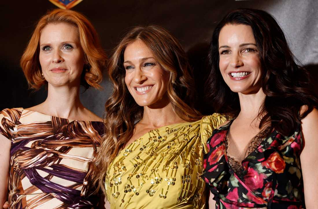 "Cynthia Nixon, Sarah Jessica Parker och Kristin Davis återvänder som Miranda, Carrie och Charlotte i ""Sex and the city""-uppföljaren ""And just like that ..."". Arkivbild."