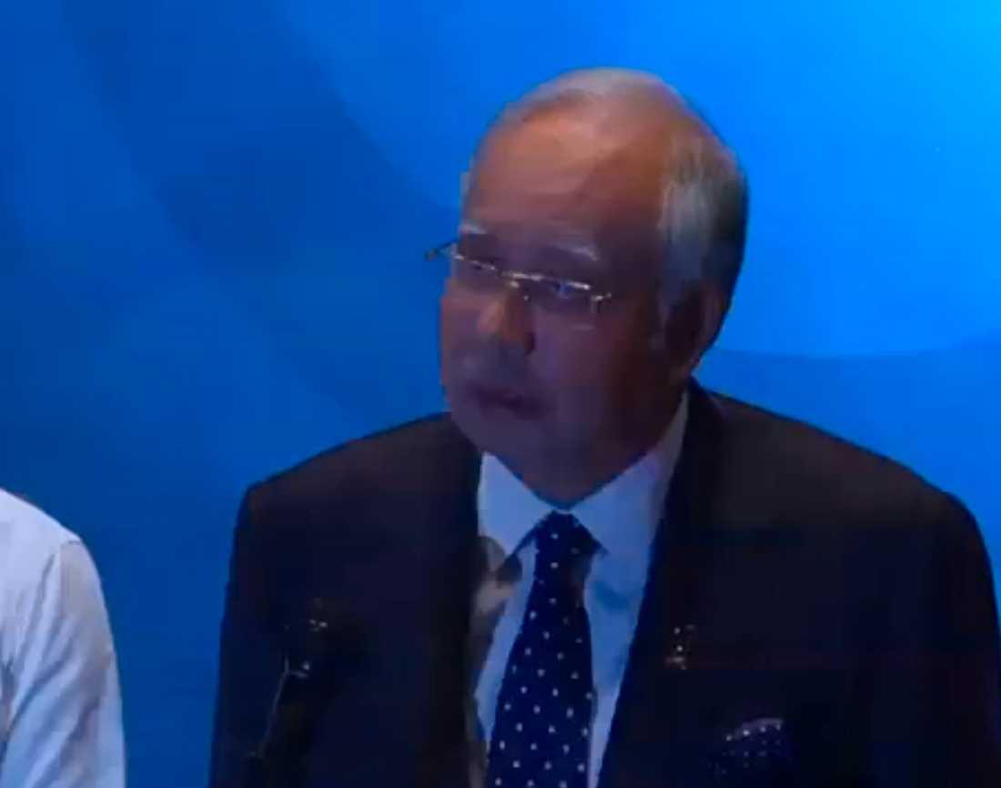 Malaysias presmiärminister Najib Razak.