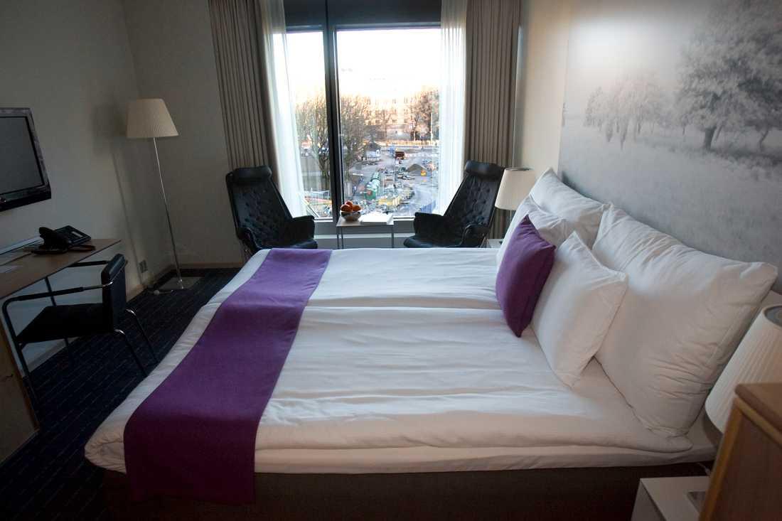 Svenska hotell har drabbats av avbokningar efter Kinas reseförbud. Arkivbild.