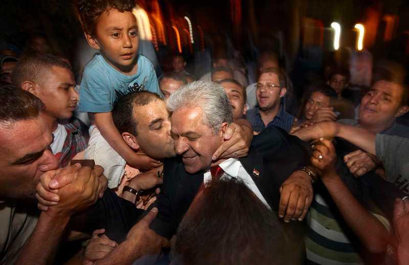 Förloraren  Demokratirörelsens Hamdeen Sabbahi var nära att skrälla.