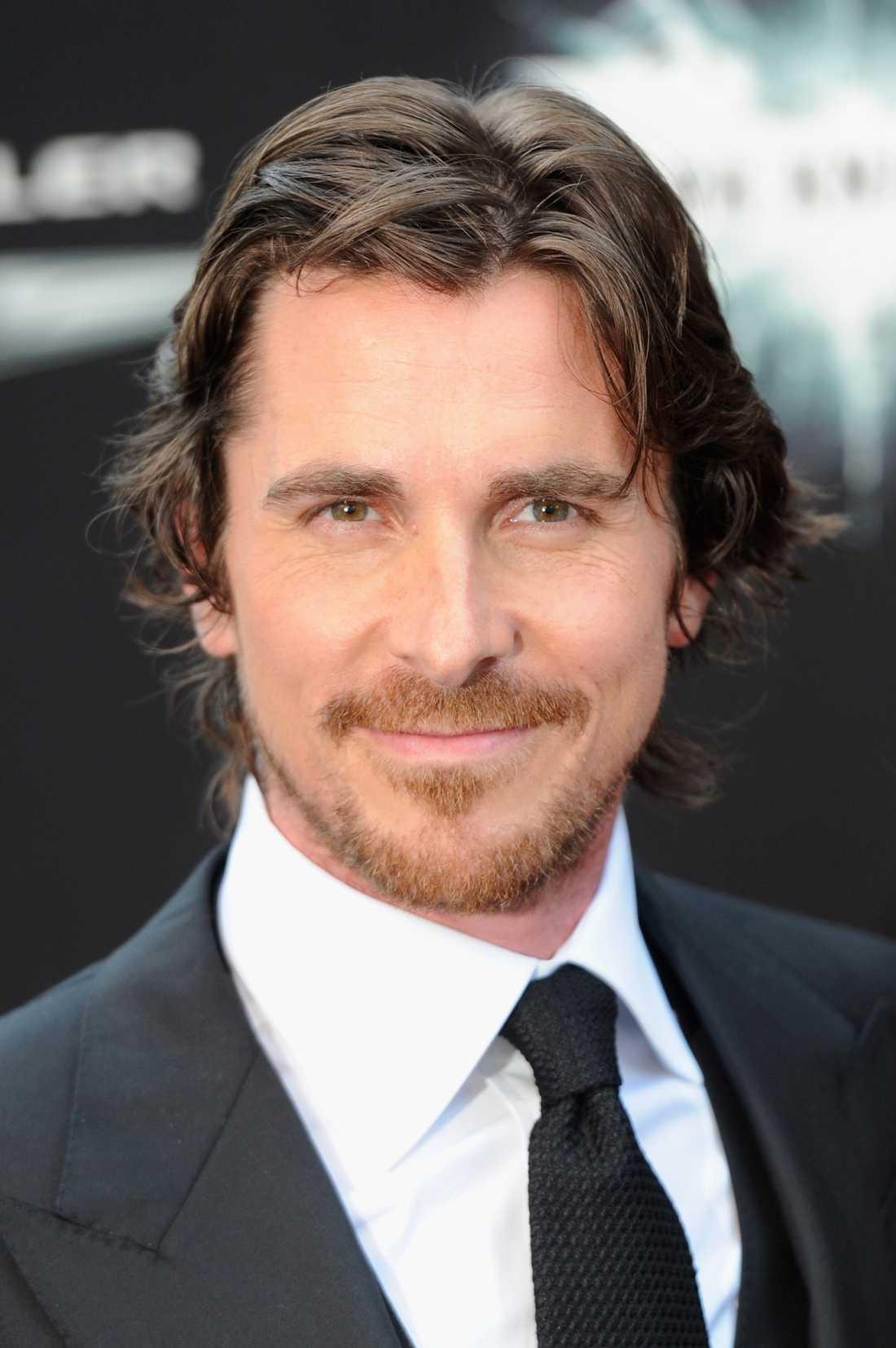 Christian Bale som spelar Batman himself.