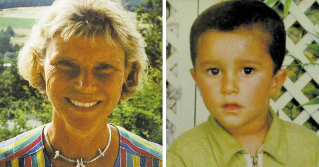 Anna-Lena Svenson, 56, och Mohamed Ammouri, 8, mördades i Linköping.