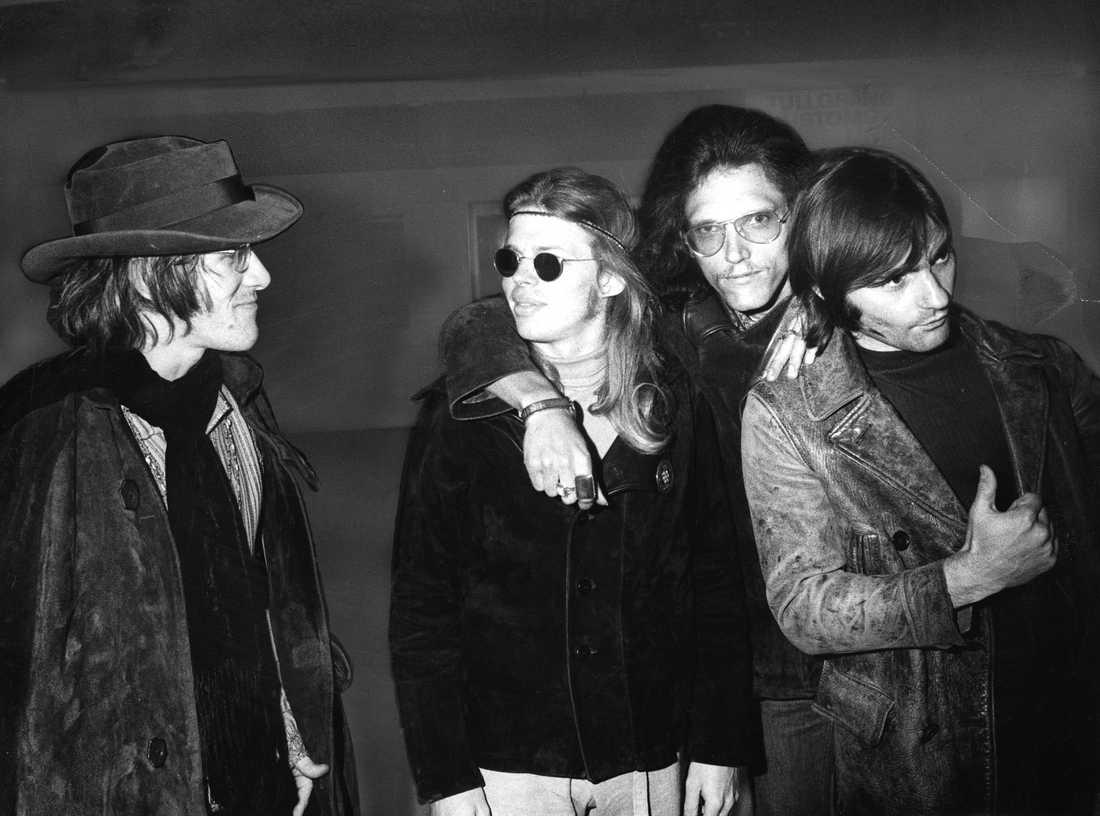 Jefferson Airplane 1968. Från vänster Paul Kantner, Jack Casady, Jorma Kaukonen och Marty Balin.