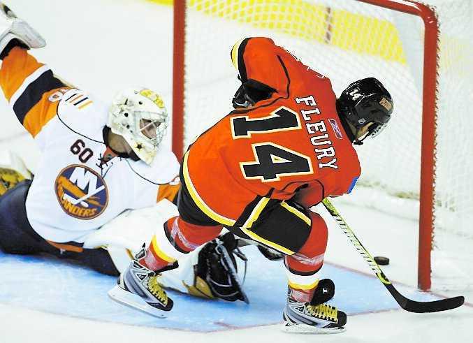 Det var sex år sedan den lille forwarden spelade i världens bästa hockeyliga. Hur träningsmatchen mot New York Islanders gick? Jo den avgjorde Fleury med att iskallt sätta den sista straffen.