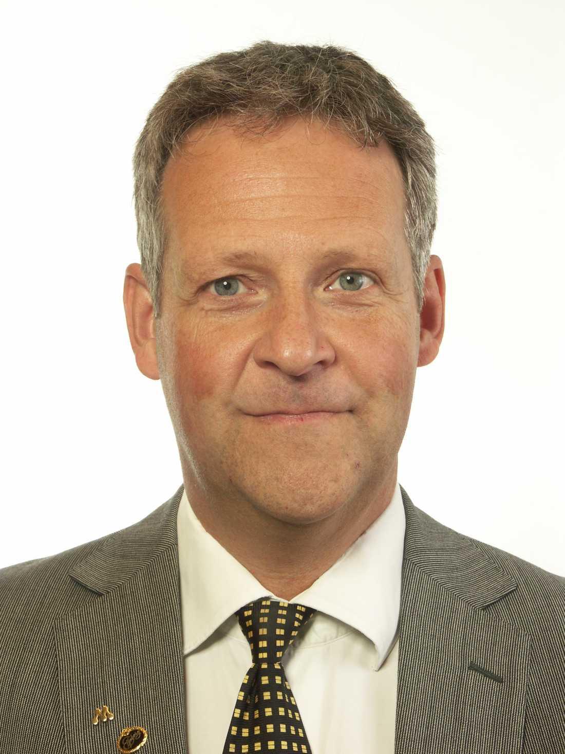 Jan Ericson, riksdagsledamot Moderaterna.