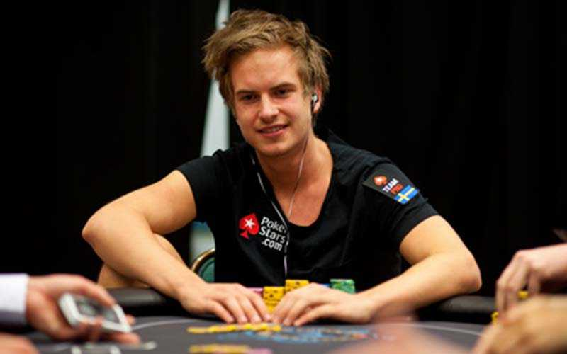 Viktor Blom upplever just nu en av de bäste stunderna i sin pokerkarriär