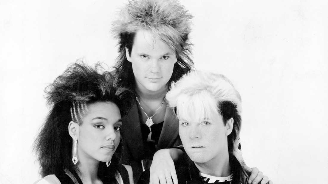 Freestyle blev Style och kvar var då Gigi Hamilton, Tommy Ekman och Christer Sandelin, här 1986.