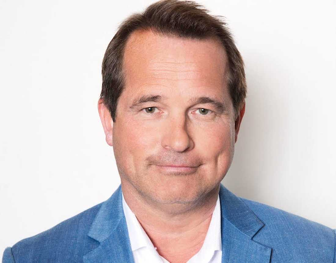 Michael Schüller, VD för Egencia i Sverige.