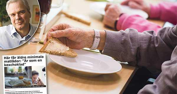Den som serverar näringsfattig mat för bantare måste gå att välja bort, skriver Ulf Lindberg, Almega.