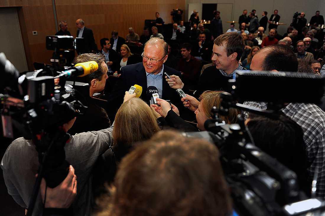 I rampljuset Göran Persson var invigningstalare på en konferens i Stockholm i går. Direkt efter hans anförande var Aftonbladets läsare eniga: De vill ha honom tillbaka som S-ledare.