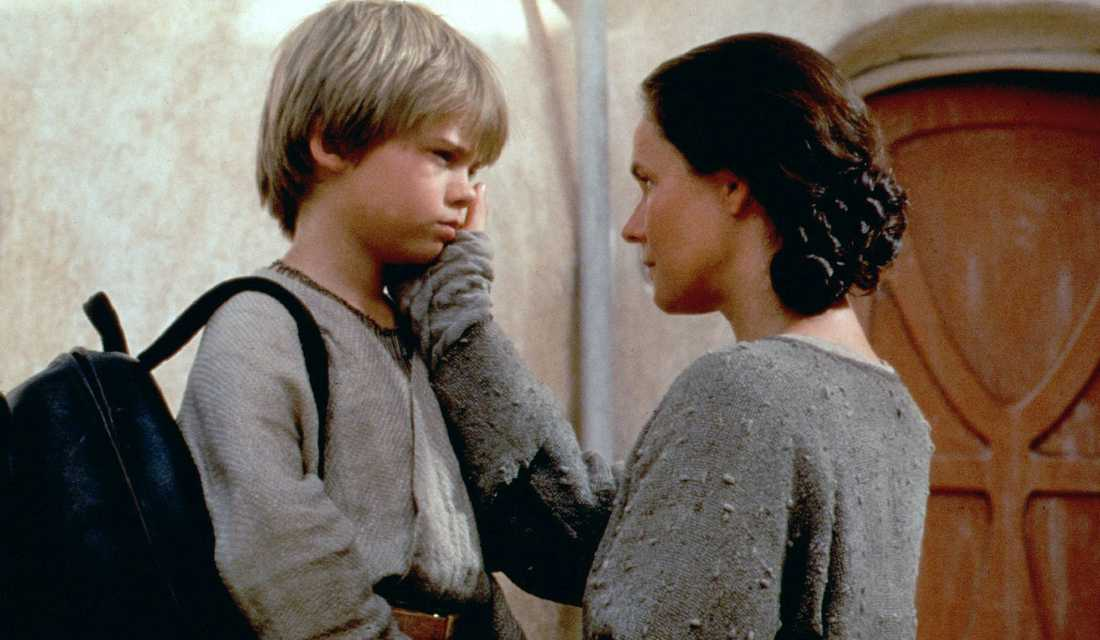 En ung Anakin Skywalker i Episode I: The Phantom Menace.