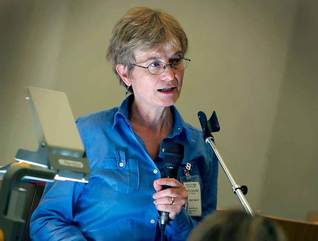 Forskare Astrid Schlytter.