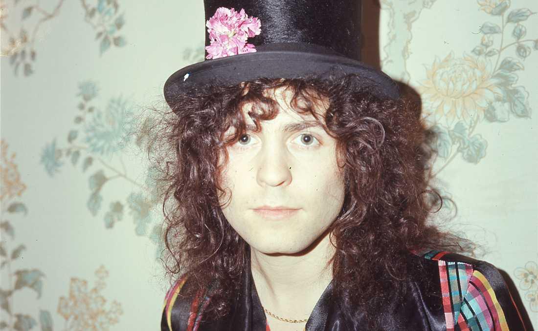 Marc Bolan var inte sällan i hatten.