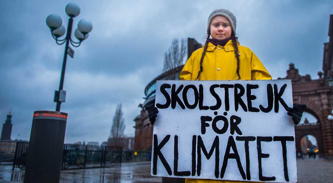 Greta Tunberg har talat för världens ledare på klimatmötet i polska Katowice.