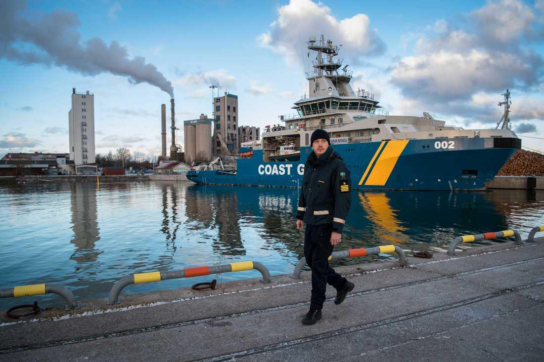 Slite på Gotland är en av hamnarna som Nord Stream vill hyra under bygget – men regeringen övertalade Gotland att säga nej av försvarpolitiska skäl.