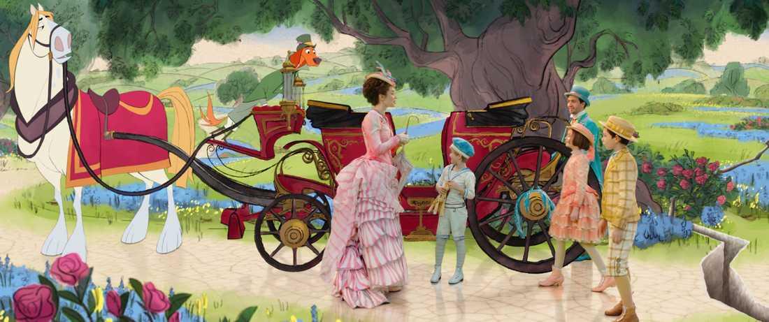Mary Poppins, Jack och barnen.