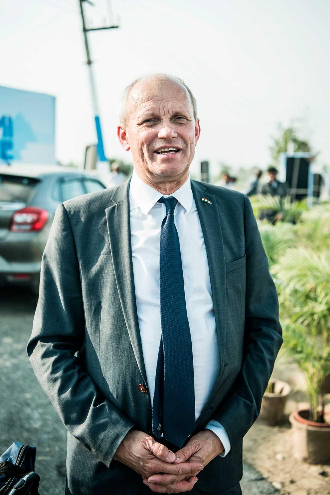 """""""80 procent av allt vatten renas inte,"""" sade Torgny Holmgren, vd för Stockholm International Water Institute."""