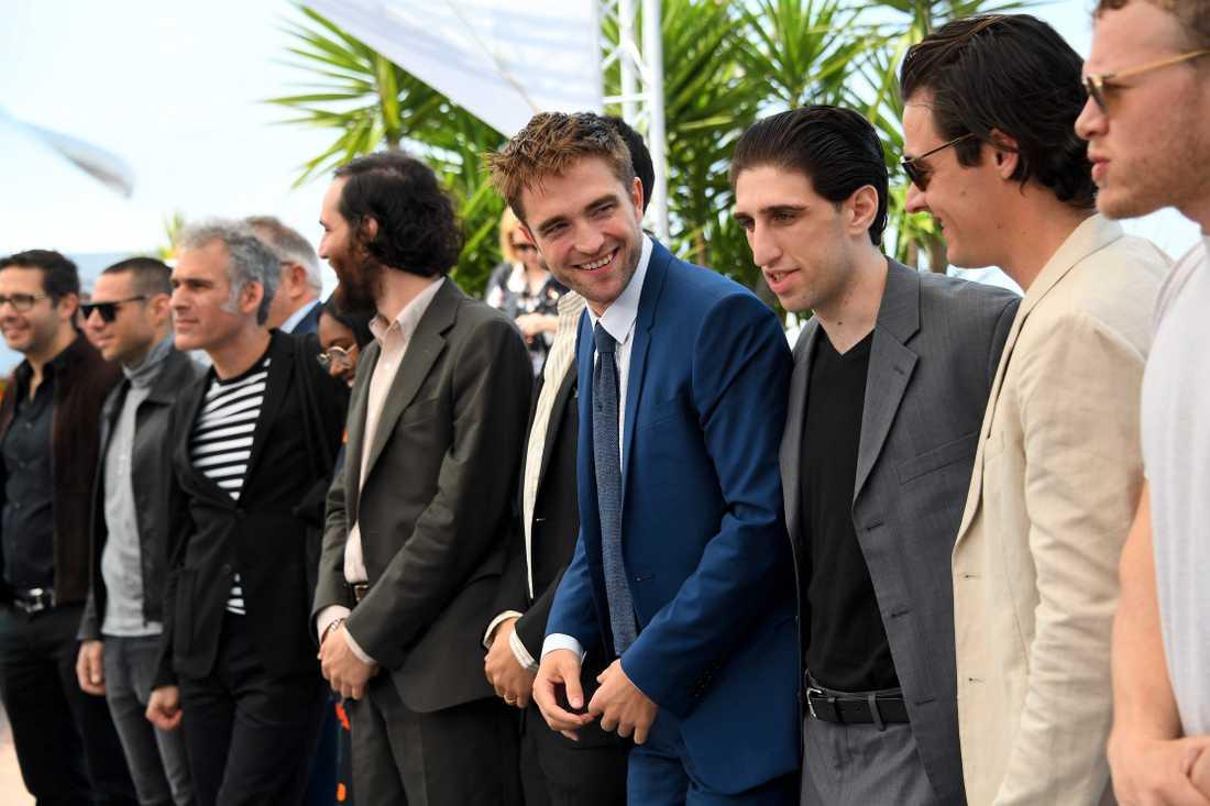 Robert Pattinson i mitten
