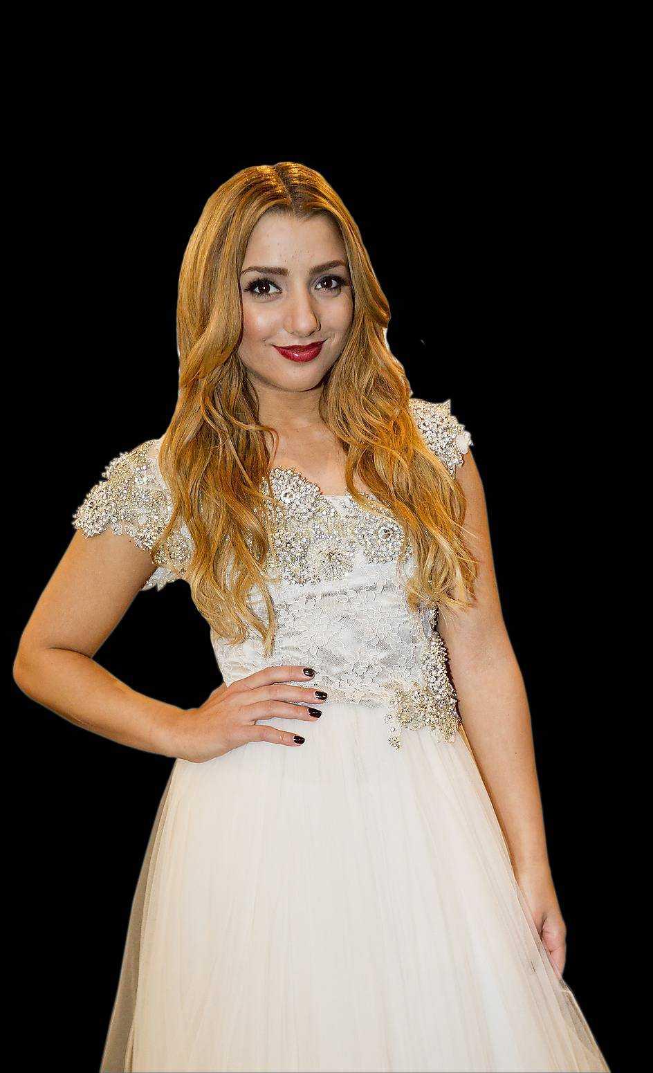 Gina Dirawi i Melodifestivalen 2013.