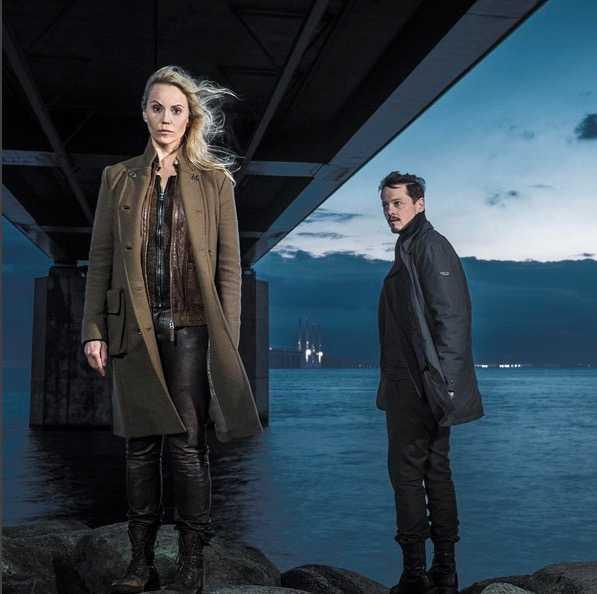 """Sofia Helin är tillbaka i en ny säsong av """"Bron""""."""
