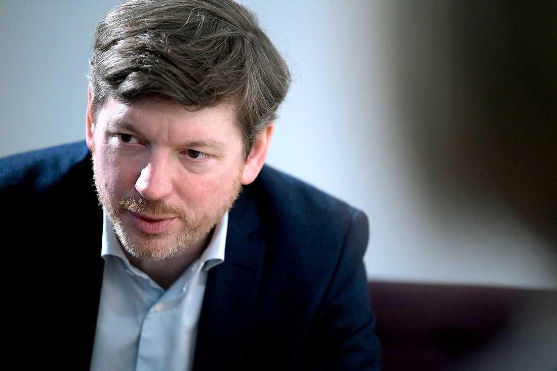 Martin Ådahl, arbetsmarknadspolitisk talesperson för Centerpartiet.