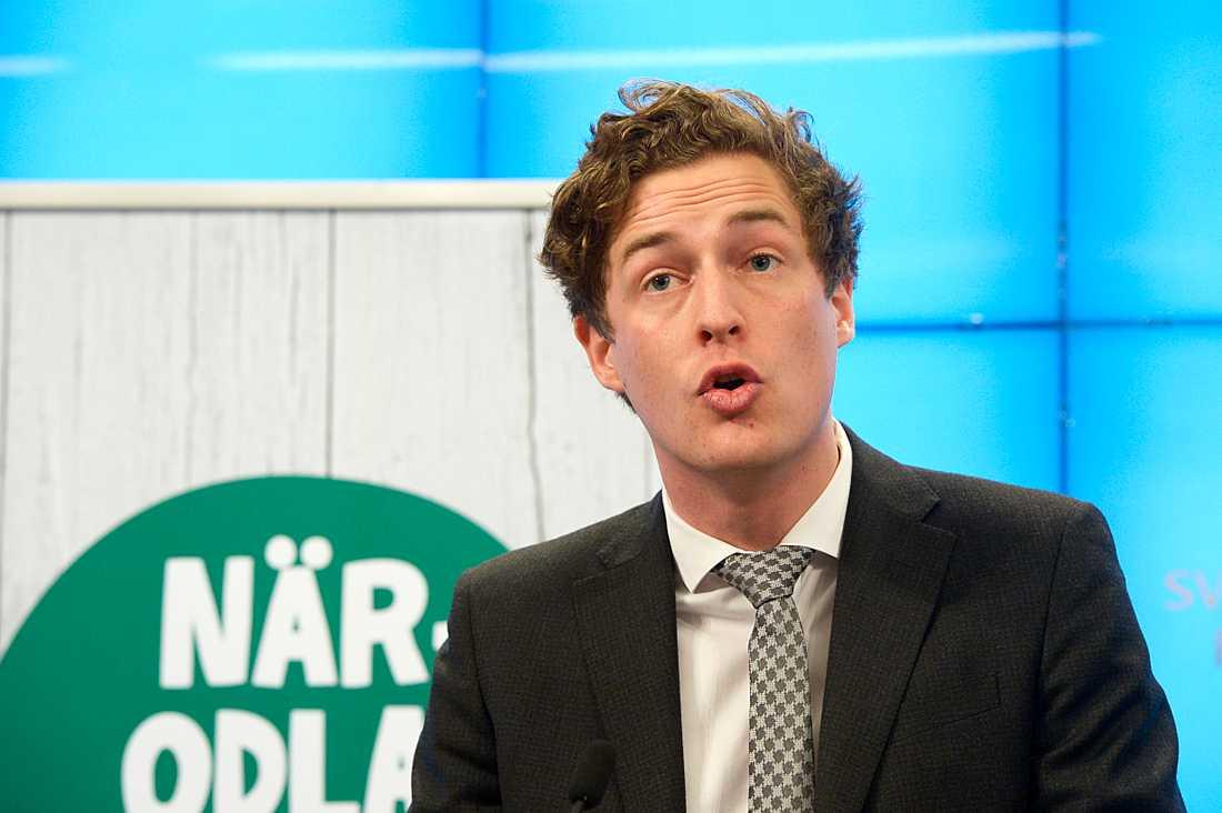 Emil Källström, ekonomisk talesperson för (C).