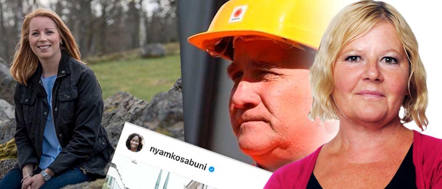 Varning för slemma politiker på Instagram