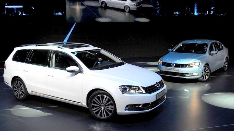 Nya Volkswagen Passat Foto: Scanpix