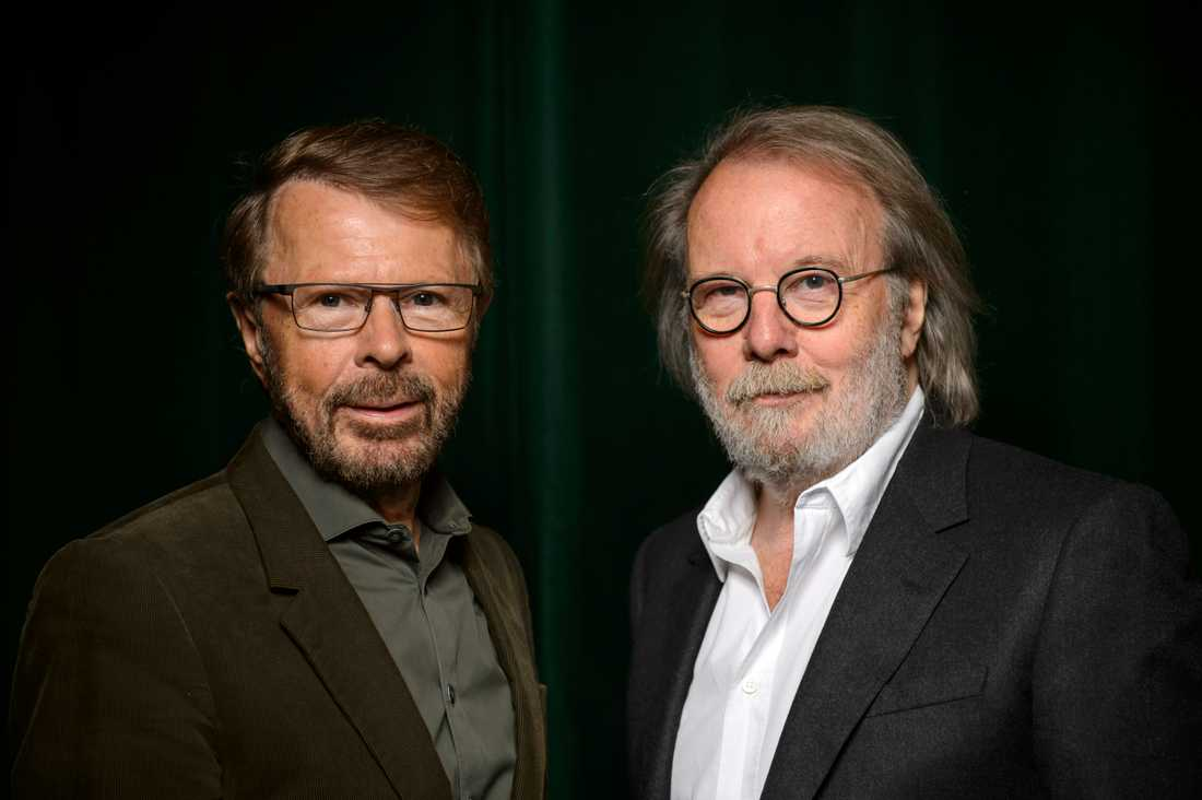 Björn Ulvaeus och Benny Andersson.