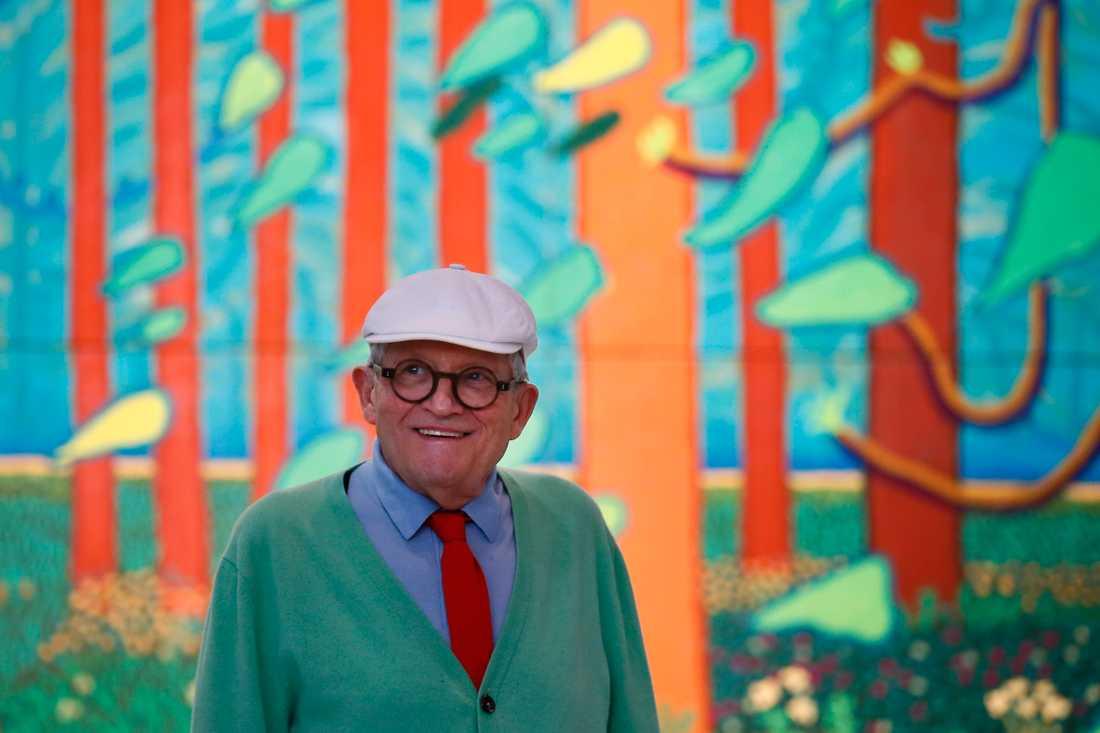David Hockney i Paris 2017.