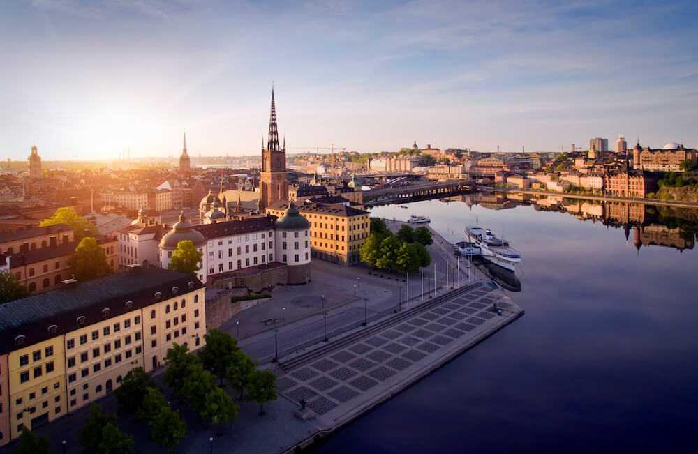Stockholm är vackert på sommaren.