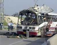 Minst nio personer dödades och flera skadades vid en självmordsattack mot en buss i Haifa på onsdagsmorgonen.