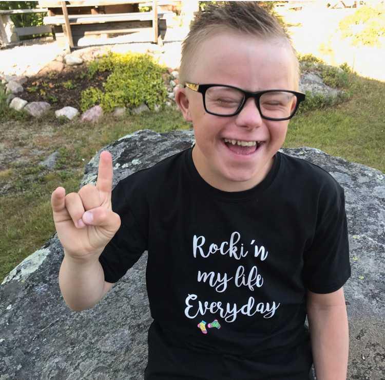 Max Ökvist föddes med Downs syndrom och två hjärtfel.